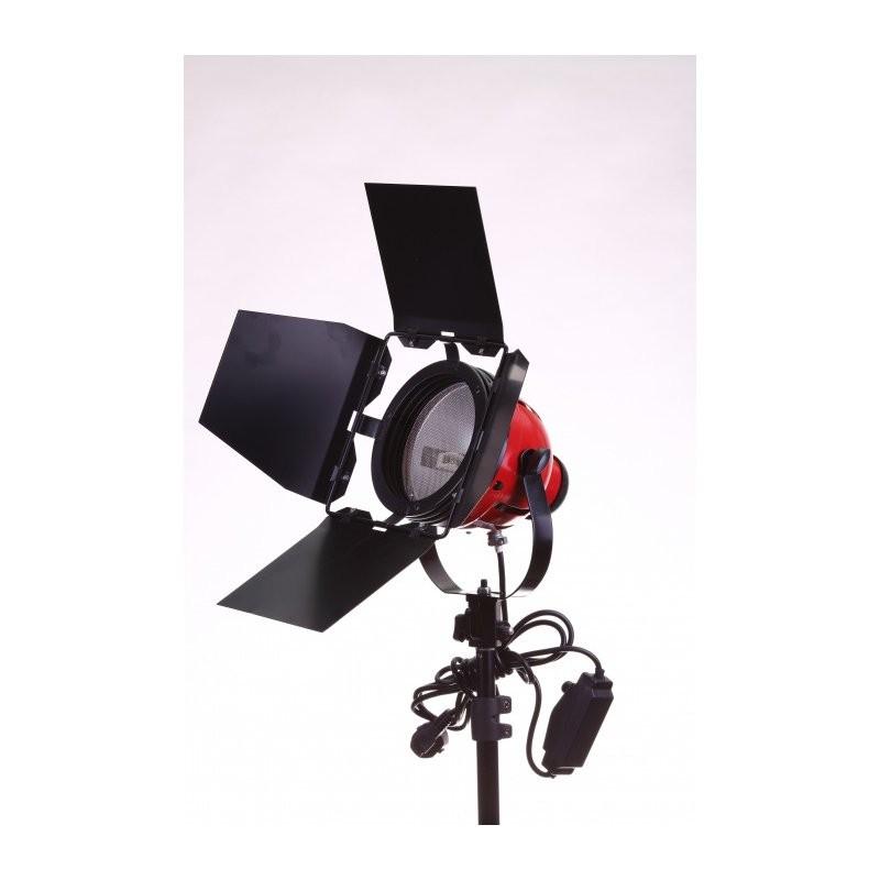 FST 800Вт галогеновый осветитель красный
