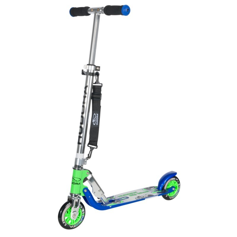 Самокат Hudora Big Wheel  125  green-blue
