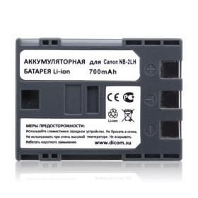 Аккумулятор Dicom DC-2LH for Canon NB-2LH