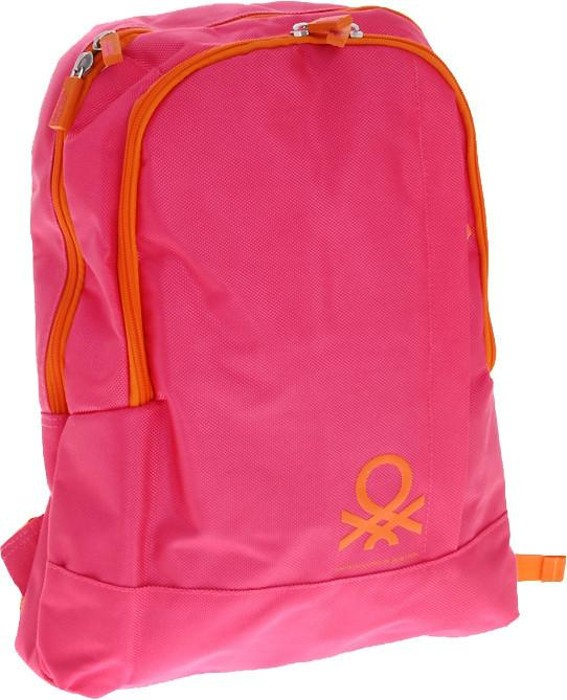 Рюкзак Benetton backpack fuchsia