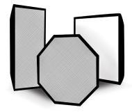 Софтбокс жесткий Rekam EF-C 041, 38х38 см, для осветителей серий Classic/Partner