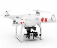 Квадрокоптер DJI Phantom 2 v2.0 с подвесом DJI Zenmuse Gimbal H3-3D
