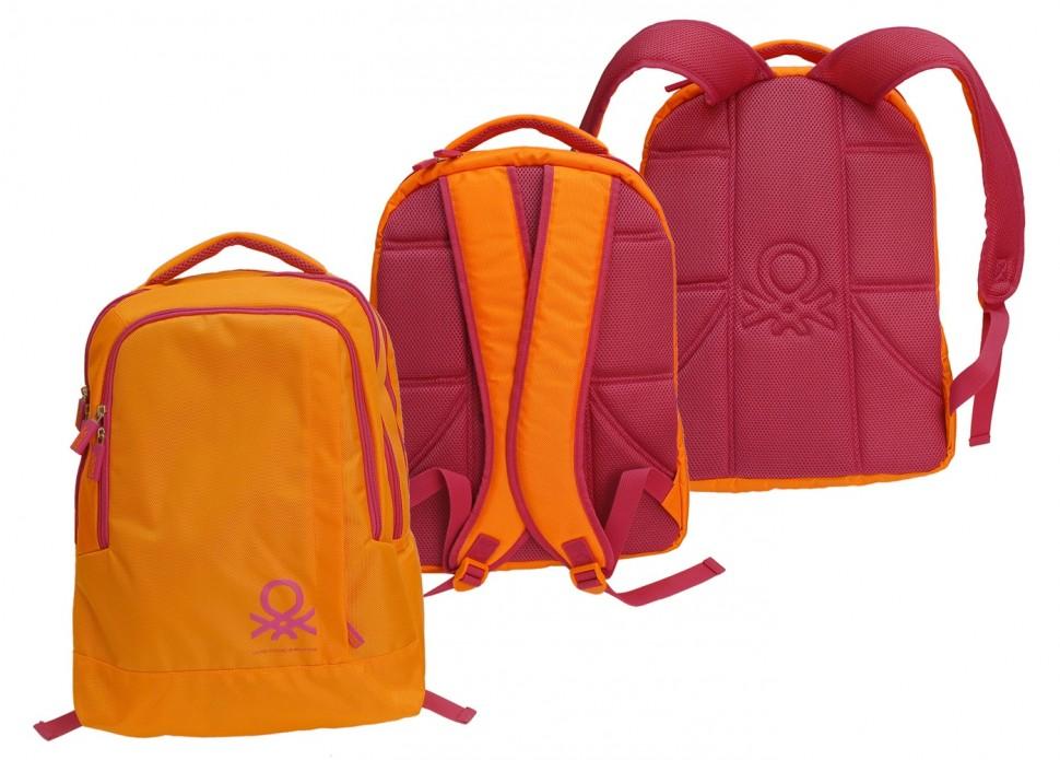 Рюкзак Benetton backpack orange