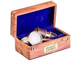 Набор подарочный - ЗТ,лупа, компас