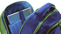 Рюкзак Benetton laptop backpack blue