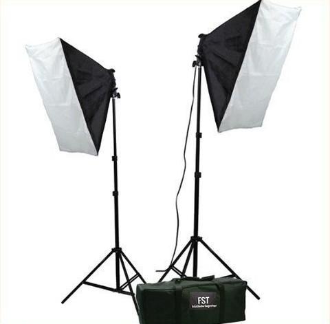 Постоянный свет комплект FST ET-402 kit