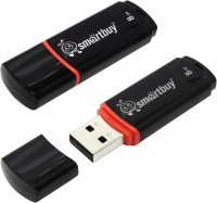 SmartBuy Usb 8GB Crown (SB8GBCRW-K) black