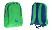 Рюкзак Benetton laptop backpack green