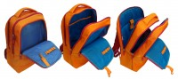 Рюкзак Benetton laptop backpack orange