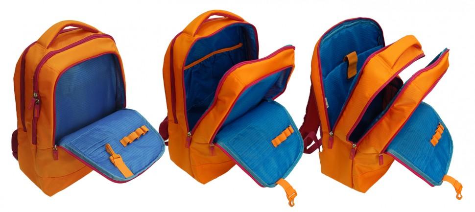 Рюкзак Benetton laptop backpack orange