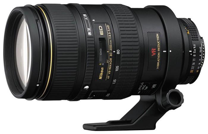 Nikon 80-400mm f/4.5-5.6D ED VR AF Zoom-Nikkor