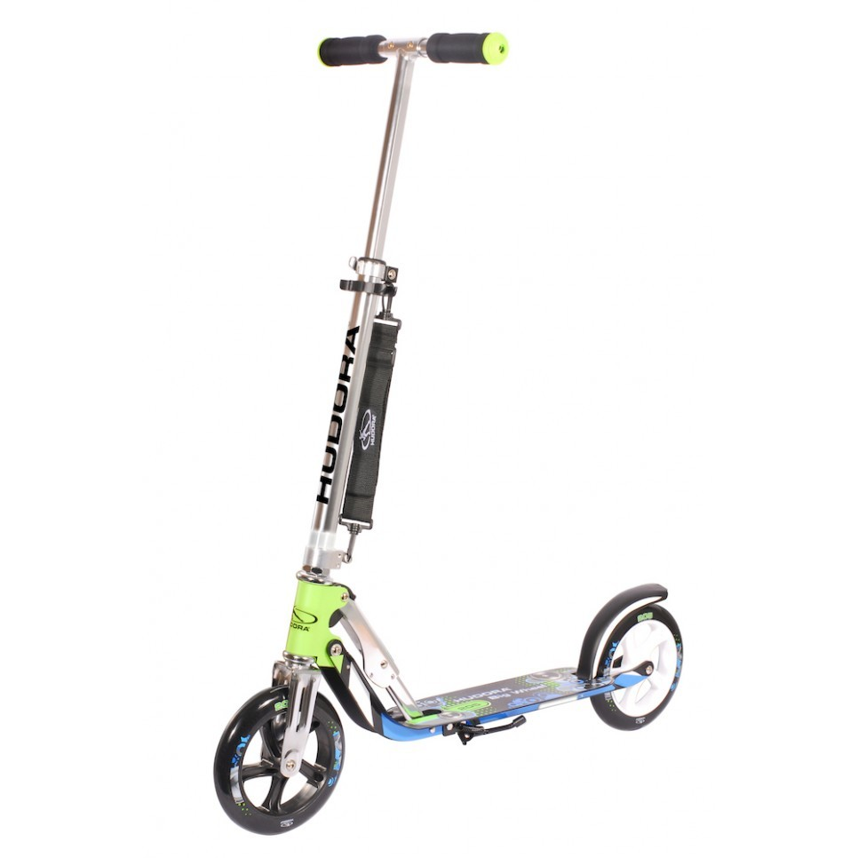Самокат Hudora Big Wheel 205 green/blue
