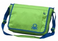 Сумка Benetton messenger green