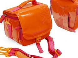 Сумка Benetton bridge case L для зеркальной камеры orange