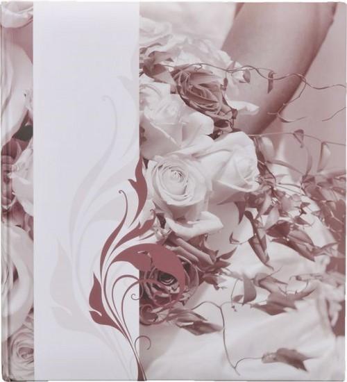 Фотоальбом Henzo 22096 28x30.5/80 бел.стр. Romance свадьба красный