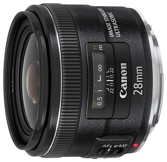 Объектив Canon EF 28 mm F/2.8 USM