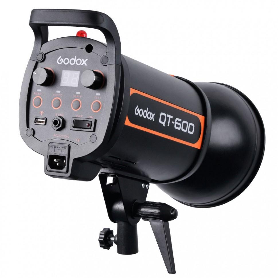 Студийная вспышка Godox QT600, 600 Дж