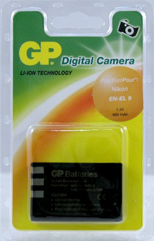 Аккумулятор GP DNK009 for Nikon EN-EL 9