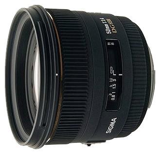 Объектив Sigma AF 50mm f/1.4 EX DG HSM Sigma SA
