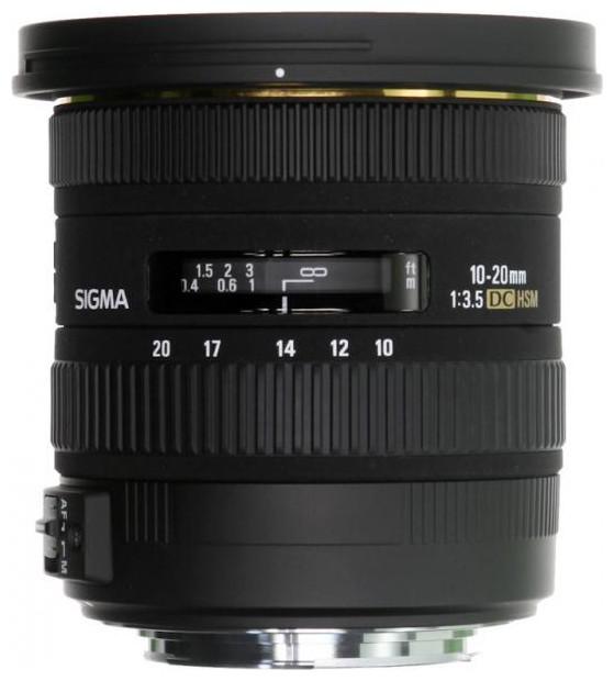 Объектив Sigma AF 10-20mm f/3.5 EX DC HSM Canon EF-S