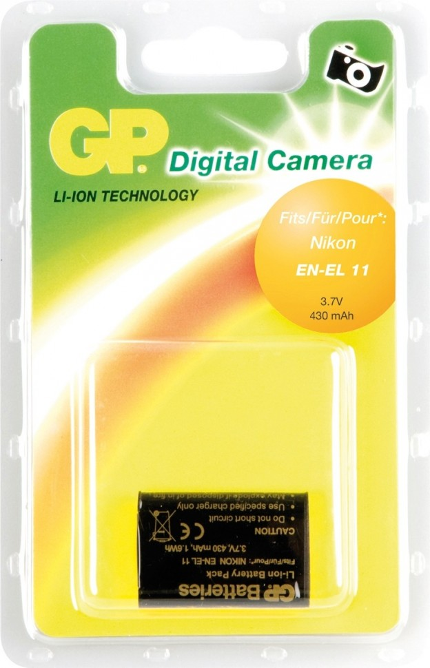 Аккумулятор GP DNK011 for Nikon EN-EL 11