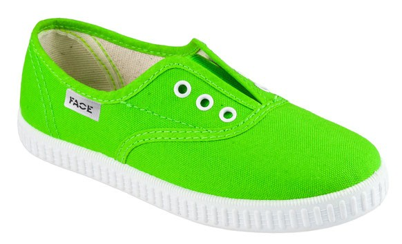 Кеды Face SPJ-P536 Neon Green