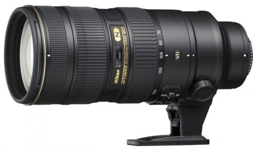 Объектив Nikon 70-200 mm f/2.8G IF-ED AF-S VR II