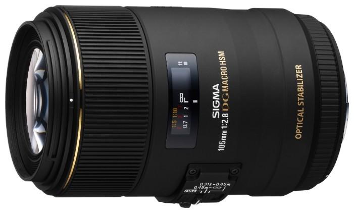 Sigma AF 105mm f/2.8 EX DG OS HSM Macro Canon EF