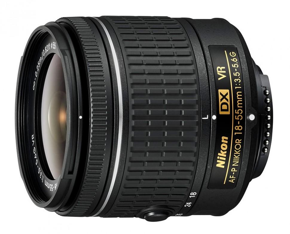 Объектив Nikon 18-55mm f/3.5-5.6G AF-P VR
