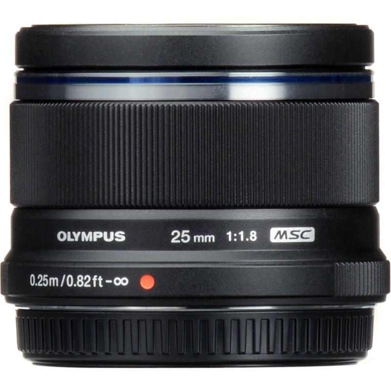 Объектив Olympus25mm f/1.8 black
