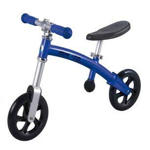 Беговел G-Bike+ Light (голубой сапфир)