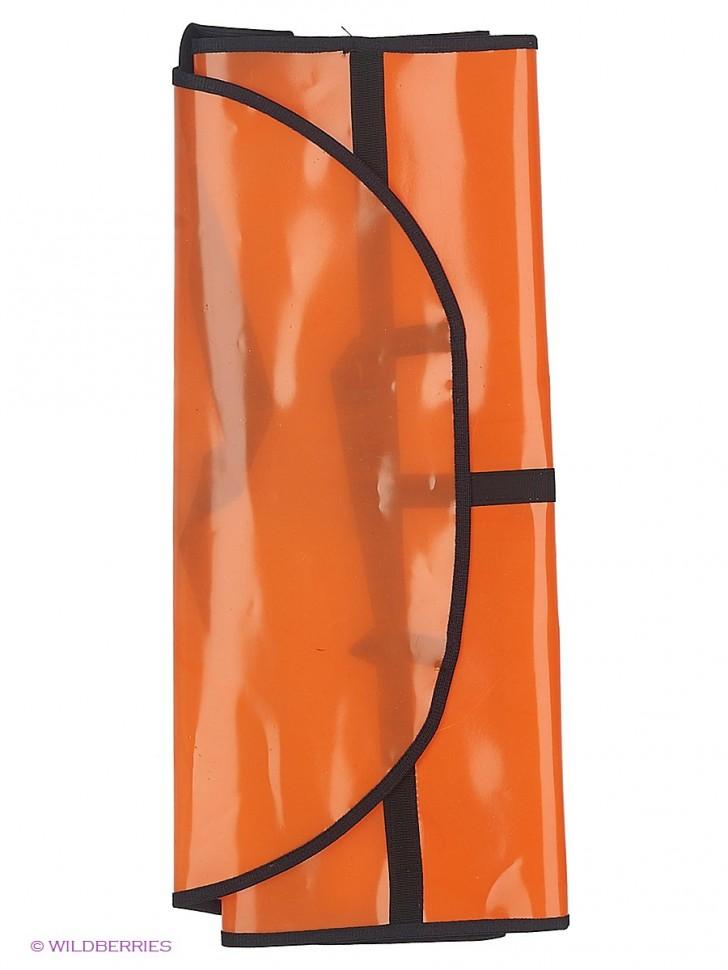 Защитный экран на спинку сиденья цвет оранжевый ECOAD-002