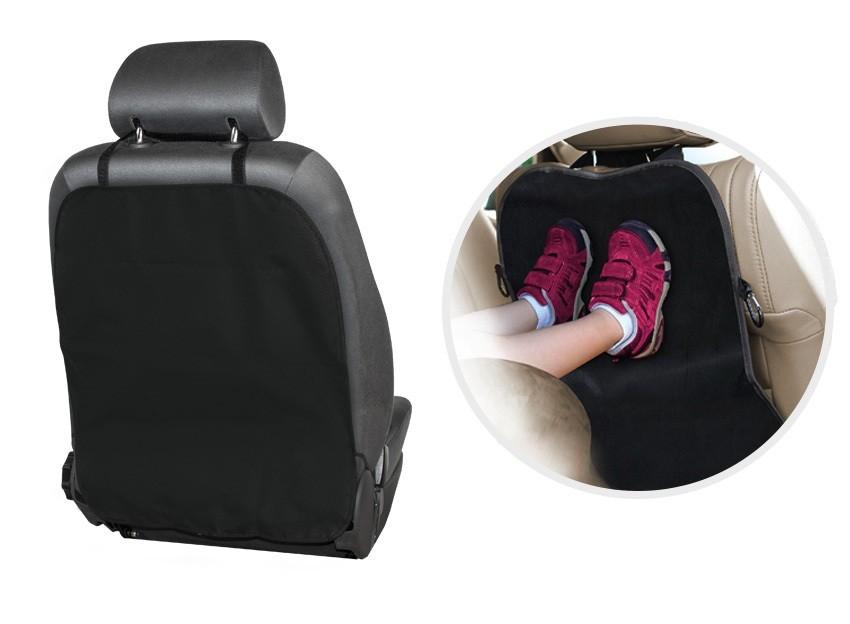 Защитный экран на спинку сиденья цвет черный ECOAD-001