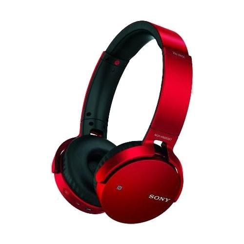Наушники Sony MDR-XB650 BT/R красный