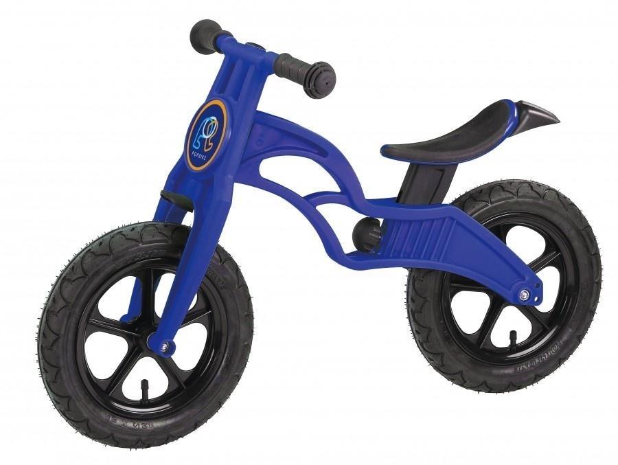 Беговел Pop Bike Flash Blue с надувными колесами