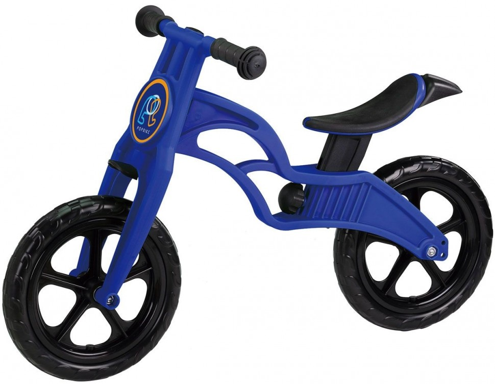 Беговел Pop Bike Sprint Blue с бескамерными колесами