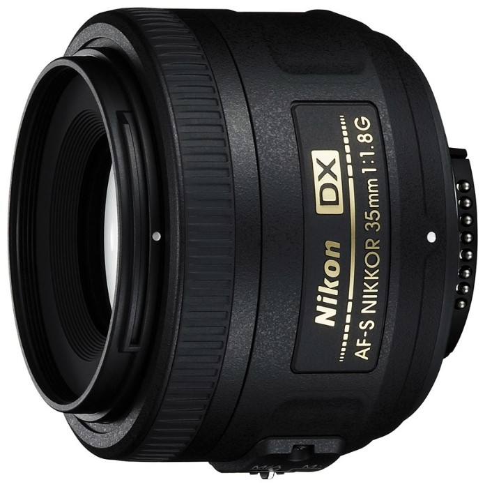 Объектив Nikkor AF-S 35 DX f/1.8G