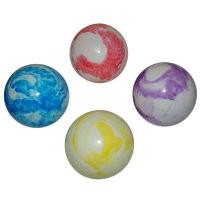 Мяч силиконовый радужный 20см TB04