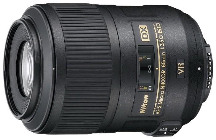 Nikon 85mm f/3.5G ED VR DX AF-S Micro-Nikkor