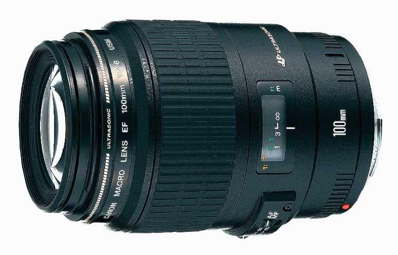 Объектив Canon EF 100 mm F/2.8 USM macro