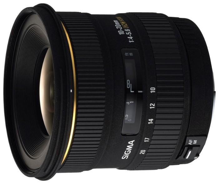 Sigma AF 10-20mm f/4-5.6 EX DC HSM Nikon F