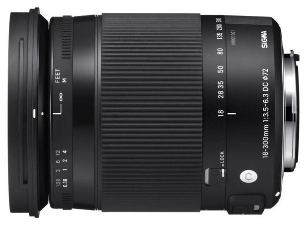 Sigma 18-300mm f/3.5-6.3 DC Macro OS HSM Contemporary Nikon